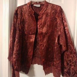 Gorgeous silky jacket